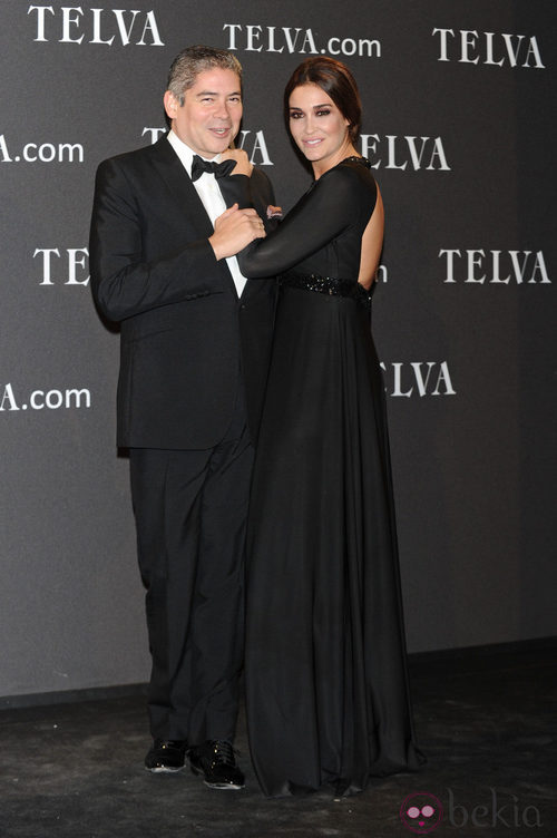 Look de Vicky Martín Berrocal y Boris Izaguirre en los Premios T de Moda de Telva 2011