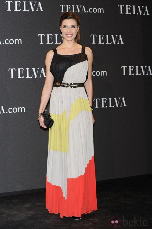 Look de Pilar Rubio en los Premios T de Moda de Telva 2011