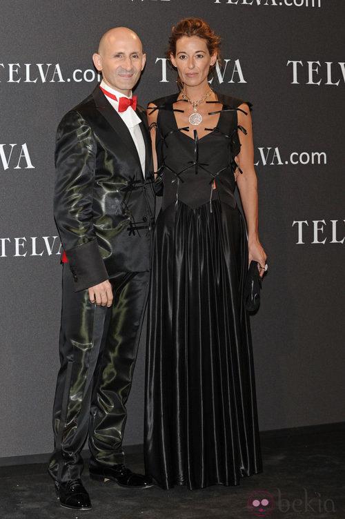 Look de Modesto Lomba en los Premios T de Moda de Telva 2011