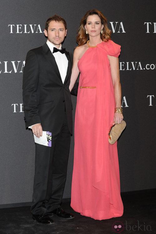 Look de Amelia Bono y Manuel Martos en los Premios T de Moda de Telva 2011