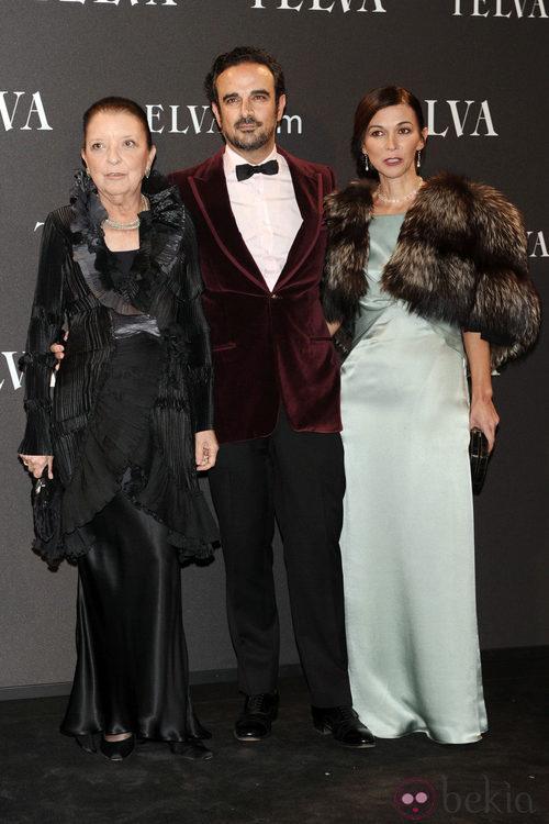 Look de Cuca de Solana y Nuria de Miguel en los Premios T de Moda de Telva 2011