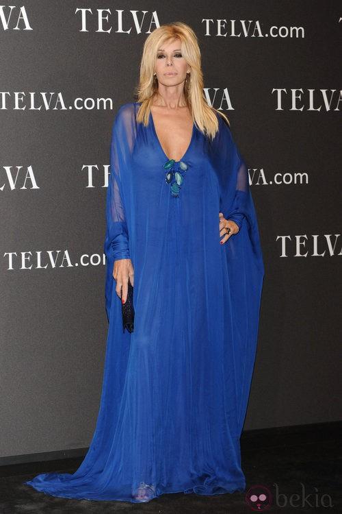 Look de Bibiana Fernández en los Premios T de Moda de Telva 2011