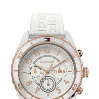 Reloj blanco femenino de la firma Tommy Hilfiger