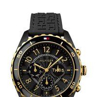 Reloj negro femenino de la firma Tommy Hilfiger