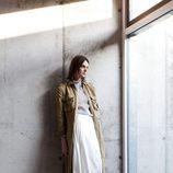Falda larga blanca de Hoss Intropia otoño/invierno 2016/2017