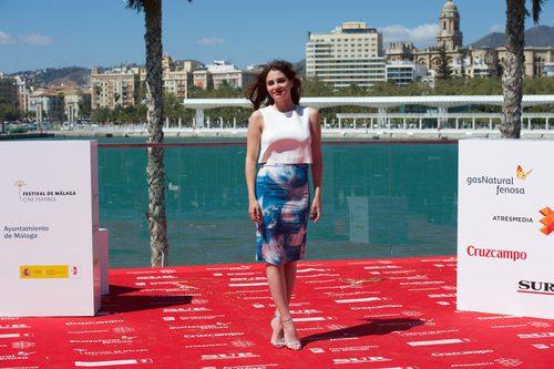 Andrea Duro en el Festival de Cine de Málaga de 2014