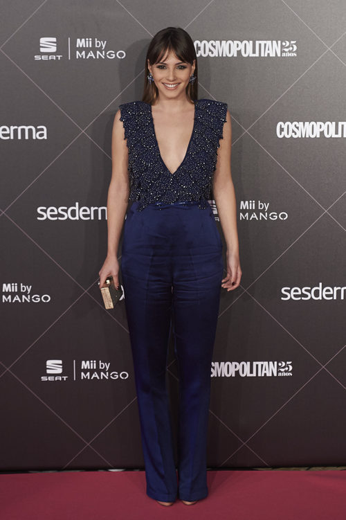 Andrea Duro en los premios 'Mujer Cosmopolitan Fun Fearless Female' en 2015
