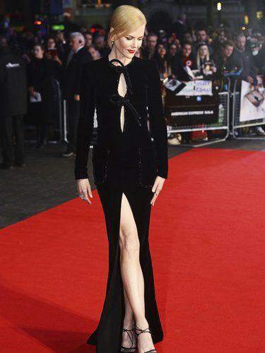 Nicole Kidman vestida de Armani en el Festival de Cine de Londres