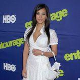 Kim Kardashian en la premiere de 'Entourage' en 2006