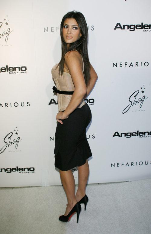 Kim Kardashian en la fiesta de la firma Fine Jewerly de 2006