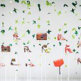 Accesorios en tonos naranjas y tierra de la colección primavera/verano 2017 de Jimmy Choo