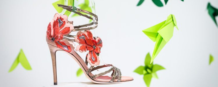 Sandalias de tacón de la colección primavera/verano 2017 de Jimmy Choo