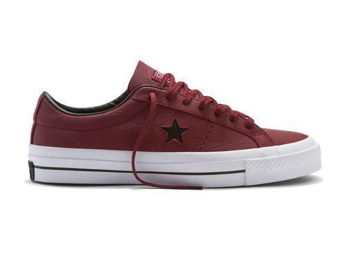 Zapatillas de color rojo de Converse otoño/invierno 2016/2017