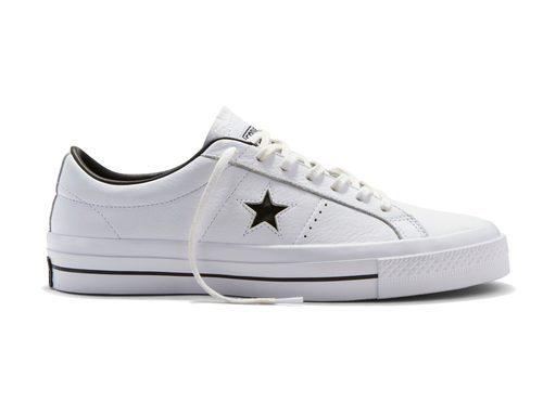 Sneakers de color blanco de Converse otoño/invierno 2016/2017