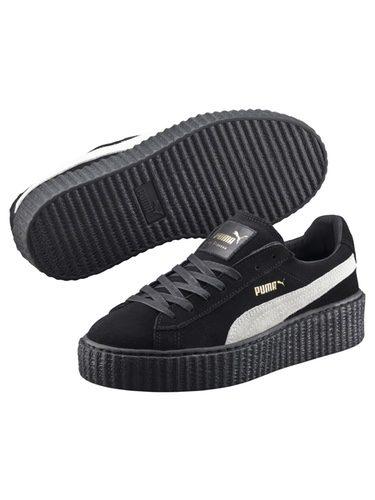 Zapatillas total black de la colección 'Creeper by Rihanna' de Puma