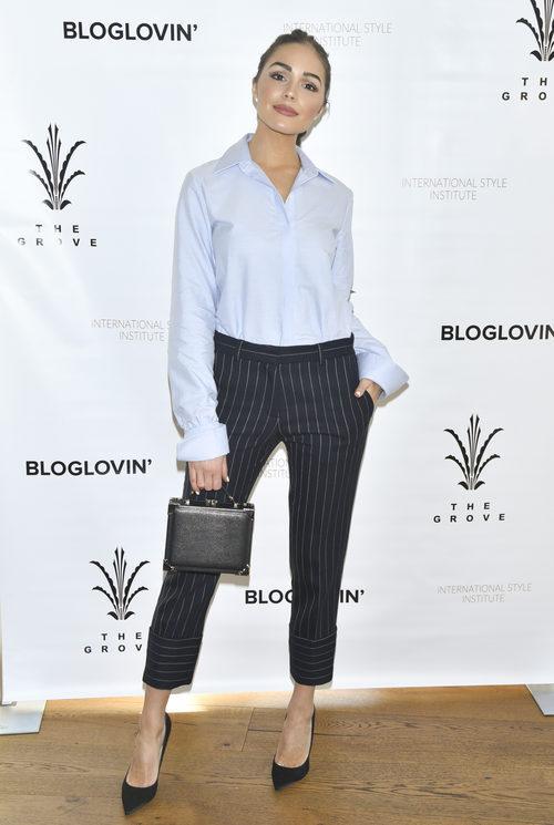 Olivia Culpo y su dress code en el International Style Institute de Los Ángeles