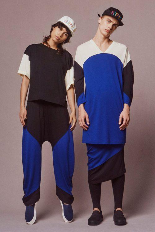 Camisetas de estampado geométrico de Esprit y Opening Ceremony otoño/invierno 2016/2017