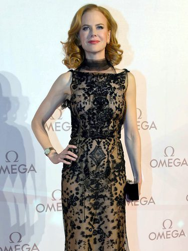 Nicole Kidman en 'La Nuit Encantée' organizada por Omega en marzo de 2013