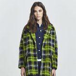 Abrigo de cuadros verde de Replay otoño/invierno 2016/2017