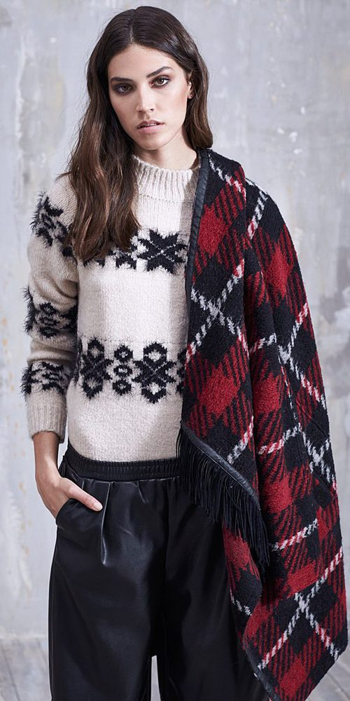 Jersey de lana blanco de Replay otoño/invierno 2016/2017