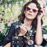 Marion Cotillard como imagen de los bolsos Lady 2017 de Dior