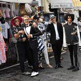 Jóvenes protagonistas de la campaña primavera/verano 2017 de Dolce & Gabbana