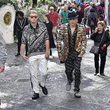 Presley Gerber y Raffety Law en la campaña primavera/verano 2017 de Dolce & Gabbana