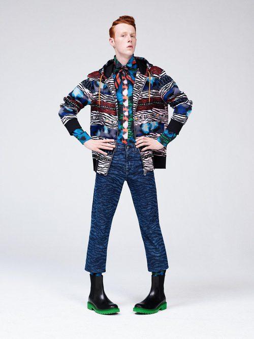 Jeans animal print de la colección 'Kenzo x H&M'