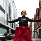 Karen Elson en la campaña 'Christmas Jumper Day' de Save The Children