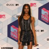 Jourdan Dunn con un mini vestido en los MTV EMA 2016