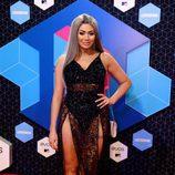 Chloe Ferry con un vestido de transparencias en los MTV EMA 2016