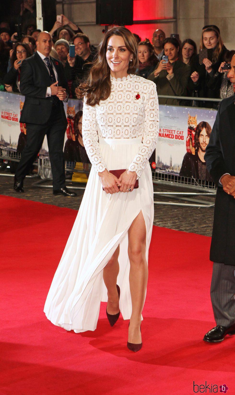 Vestido blanco kate middleton