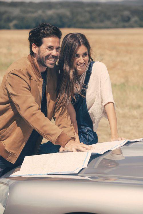 Gala González y Miguel Carrizo en la campaña de Esprit otoño/invierno 2016/2017