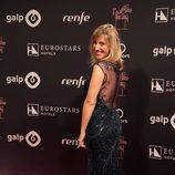 Cecilia Freire con un vestido de corte sirena en los Premios Ondas 2016