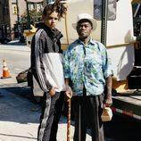 Chándal bicolor de la colección de Adidas con Pharrell Williams