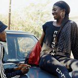 Chándal negro con estampado de la colección de Adidas con Pharrell Williams