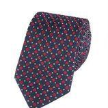 Corbata azul de la colección de Hawes & Curtis y el Príncipe Carlos
