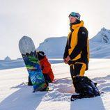 Abrigo para practicar snowboard de Quiksilver otoño/invierno 2016/2017