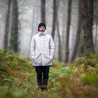 Abrigo blanco de Quiksilver otoño/invierno 2016/2017