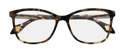 Gafas con estampado en color marrón de la colección 'Vista 2016' de Carolina Herrera