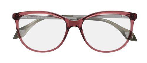 Gafas de color rojo de la colección 'Vista 2016' de Carolina Herrera