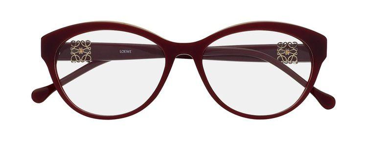 Gafas de color burdeos intenso de Loewe colección 'Vista 2016'