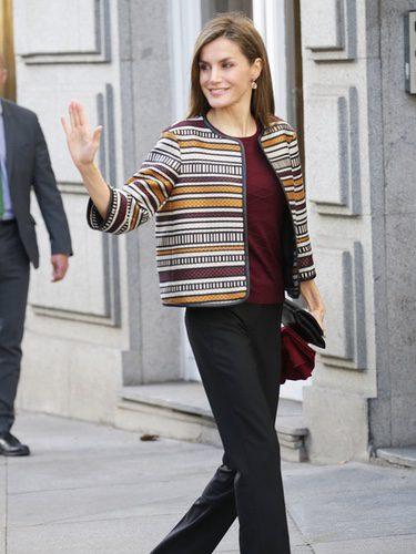 La Reina Letizia en la mesa redonda contra la discapacidad de la FAPE