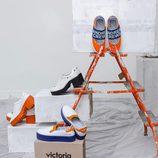Calzado de la colección 'Work' de Andrea Crews y Victoria
