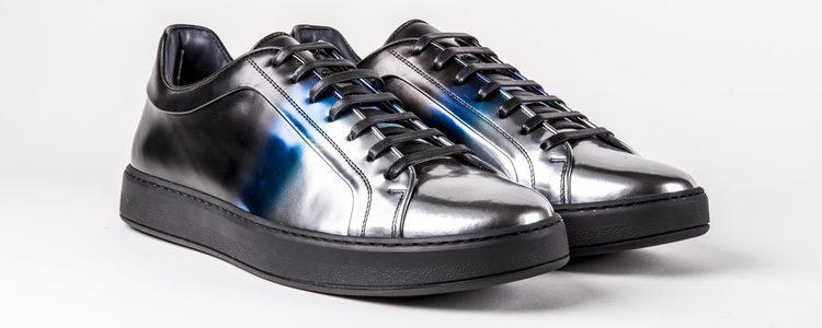 Zapatillas metalizadas de Dior Homme primavera/verano 2017