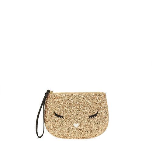 Pochette dorado de Furla colección Navidad 2016