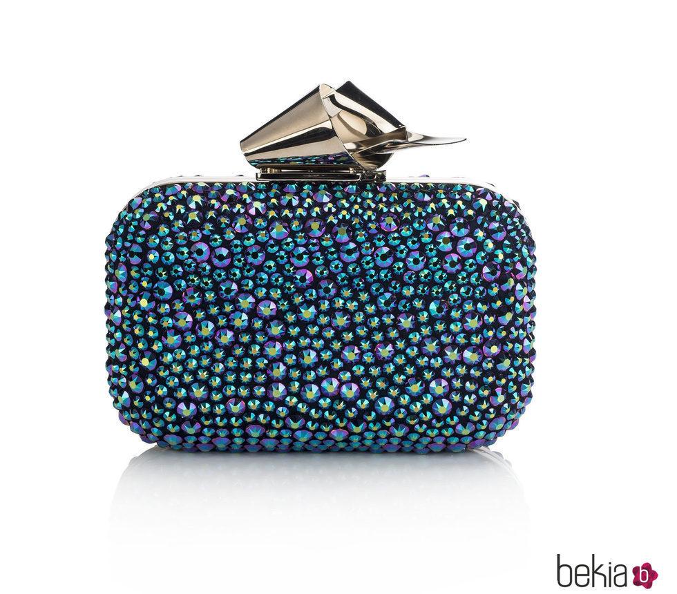 Clutch decorado con piedras brillantes de jimmy choo para for Decorado 2016