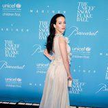 Katy Perry con un vestido brilly en la gala 'Snowflake Ball' de UNICEF en Nueva York