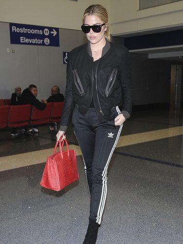 Khloe Kardashian en chándal y tacones por las calles de Nueva York