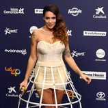 Lorena Castell en el photocall de Los40 Music Awards 2016